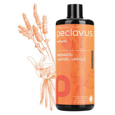Huile de massage Argan Myrte citronnée - 500 ml - Peclavus - Ruck