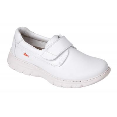 Chaussure FLORENCIA Basket Velcro Blanc Pointure 35