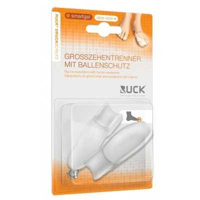 Sépateur pour gros orteils en gel et protection hallux valgus - Paquet de 2 pièces - Ruck
