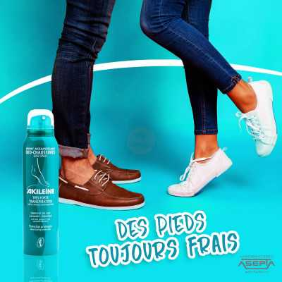 Spray aseptisant Déo-chaussures 150 ml - AKILEINE