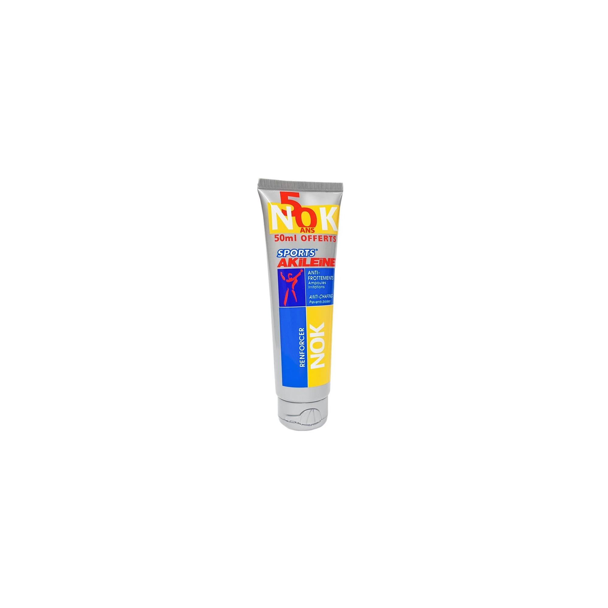 NOK crème anti frottements tube 125 ml - AKILEINE