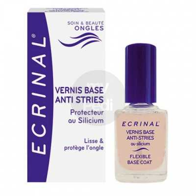ECRINAL Vernis Base  Anti Stries au silicium 10 ml
