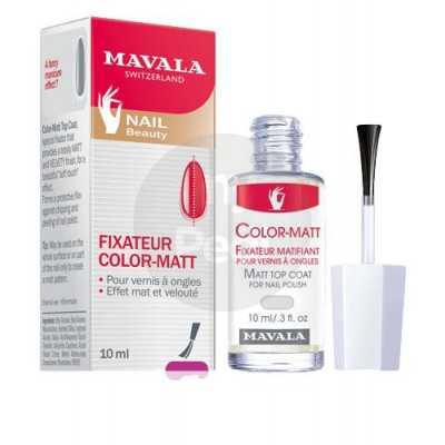 Color-matt - Pour vernis à ongles. Effet mat et velouté