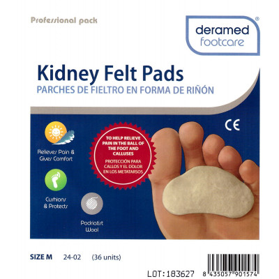 Bandages pré-découpés Fieltro - 2 mm - Fresco