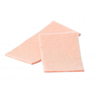 Protection adhésive en jersey doux - 4 plaques - 4,5 x 9 cm - Ruck
